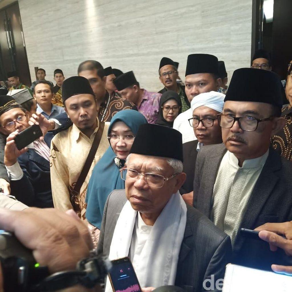 Maruf Amin: Kemenangan Pilpres Masih Menggantung