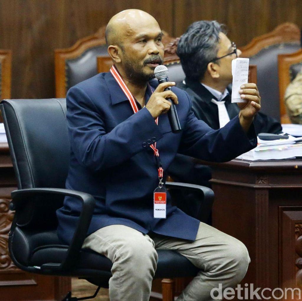 Saksi Prabowo Izin ke Kamar Kecil, Sidang MK Diskors 5 Menit