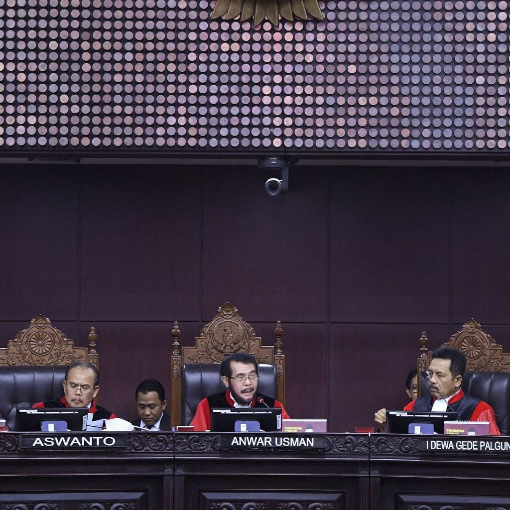 "Hakim MK Tertarik Bahas Pemilih ""Tak Ada di Dunia Nyata"""