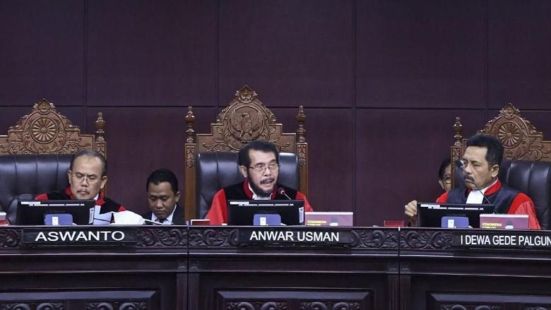 Ketua MK: Sidang Putusan Gugatan Hasil Pilpres Paling Lambat 28 Juni