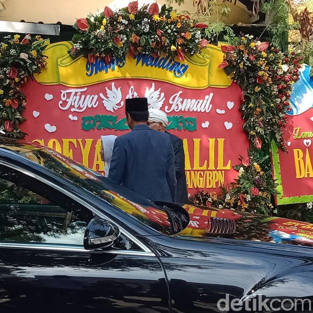 Reaksi Warga Saat Jokowi Hadiri Pernikahan Putri Rais Aam PBNU di Surabaya