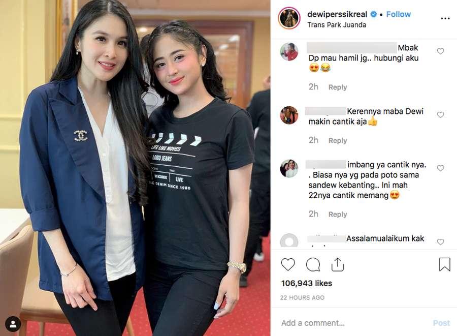 Sandra Dewi, Dewi Perssik, Stray Kids hingga Mona Ratuliu