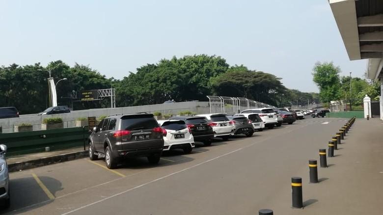 Parkiran di UPH (Foto: Rizki Pratama)
