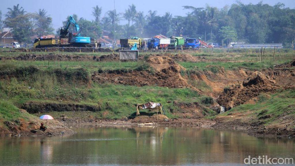 Pembangunan Floodway Cisangkuy Terus Dikebut