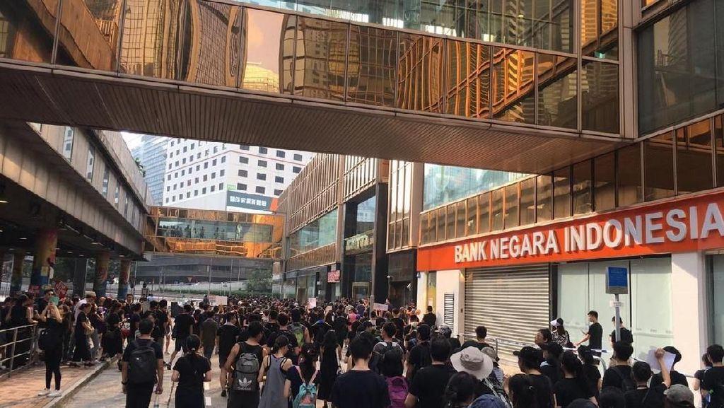 Ada Kabar Demo Lanjutan, Pegawai BNI Hong Kong Antisipasi Pindah Ngantor