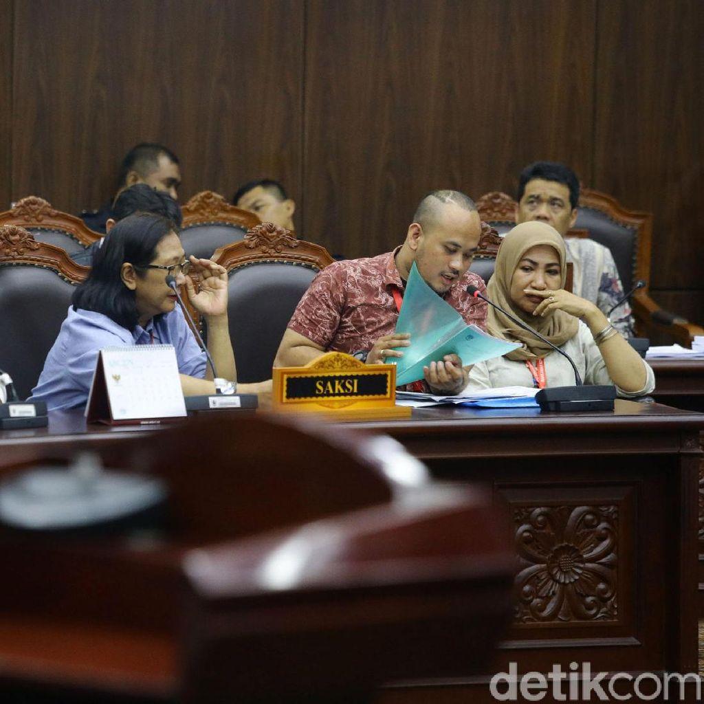 Lima Saksi Prabowo Beri Kesaksian di Sidang Sengketa Pilpres