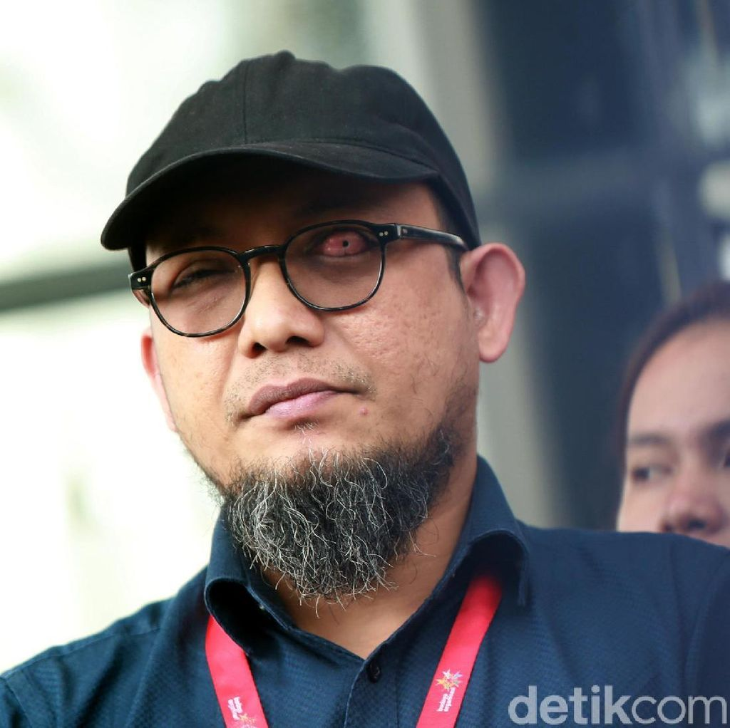 Novel Baswedan Tambahkan Kasus High Profile: Mereka Lupa Buku Merah