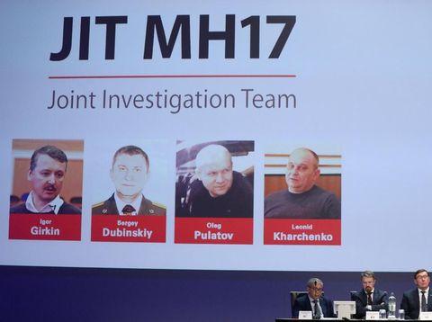 Foto tersangka kasus MH17