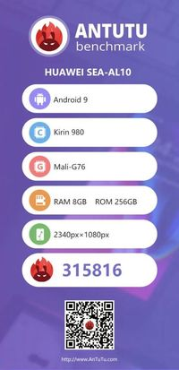 Benchmark Huawei Nova 5 Pro Terungkap, Bagaimana Speknya?