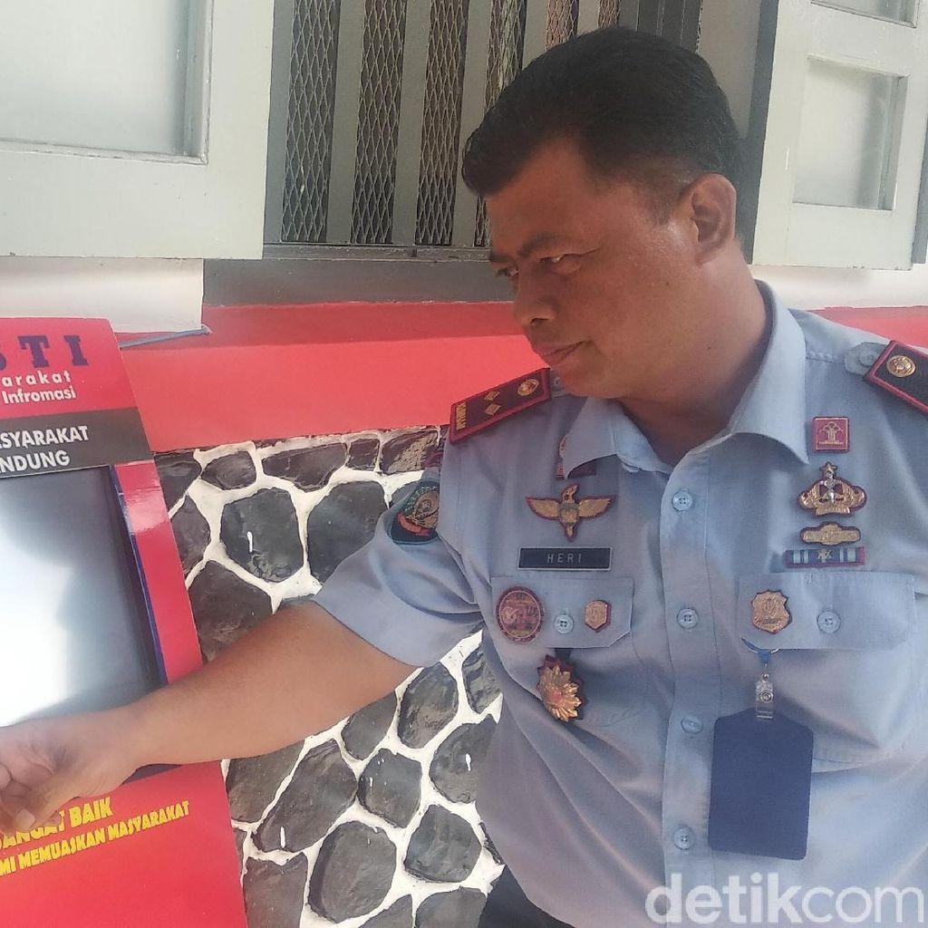 Warga-Napi Kini Bisa Nilai Kinerja Sipir Rutan Bandung via Pamasti