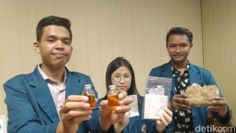3 Mahasiswa Undip Ubah Batu Fosfat dan Jelantah Jadi Biodiesel