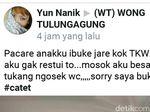 Viral, Akun Facebook Ini Hina TKW di Grup Wong Tulungagung