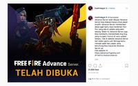 Inilah Cara Download Free Fire Advance Server