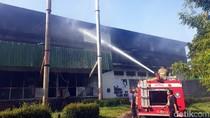 Pabrik Pengolahan Teh PTPN di Sukabumi Terbakar