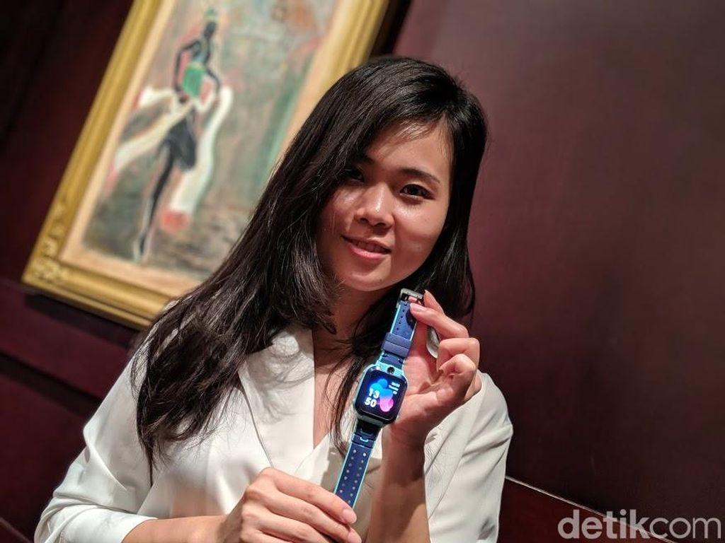 Imoo Z5 diluncurkan di Indonesia belum lama ini. Foto: Adi Fida Rahman/detikINET