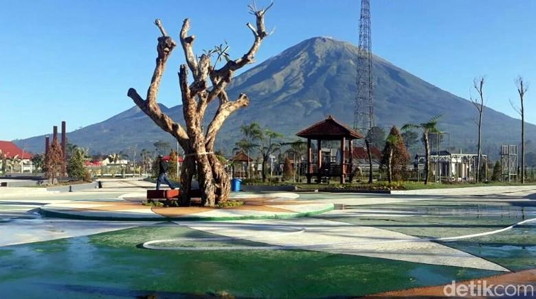 SinSu Taman Bermain dan Edukasi di Wonosobo (Uje Hartono/detikcom)