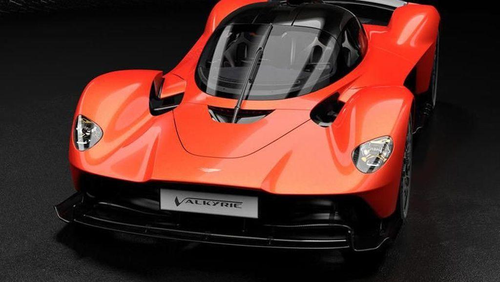 Hypercar Aston Martin Valkyrie Cuma Ada 25 Unit di Dunia