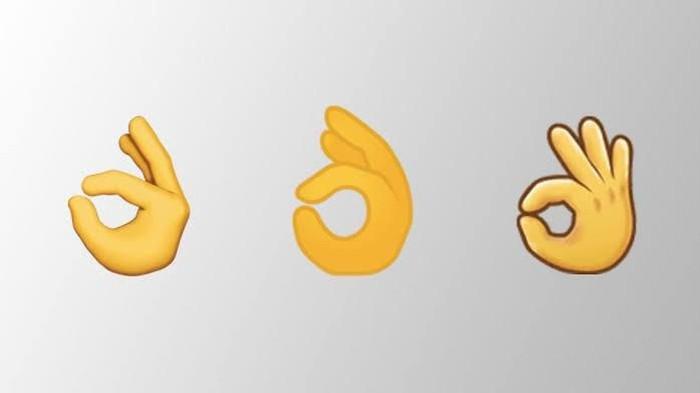 Emoji oke. Foto: istimewa