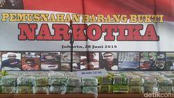 Bareskrim Polri Musnahkan 137 Kg Sabu Hasil Operasi Poseidon