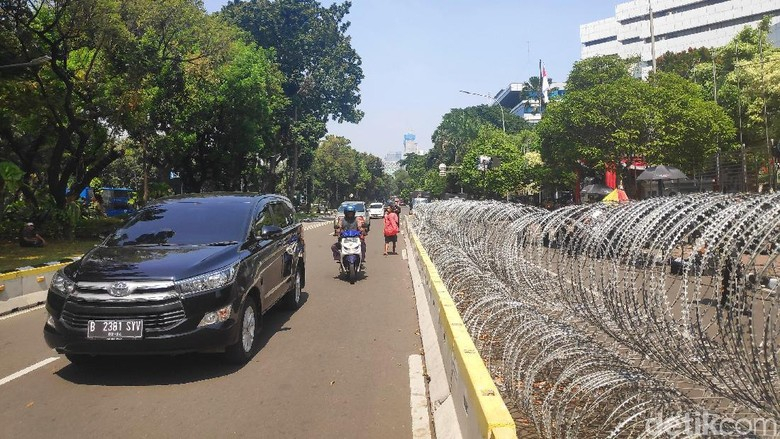 Sidang MK Dimulai, Jalan Medan Merdeka Barat Tetap Dibuka