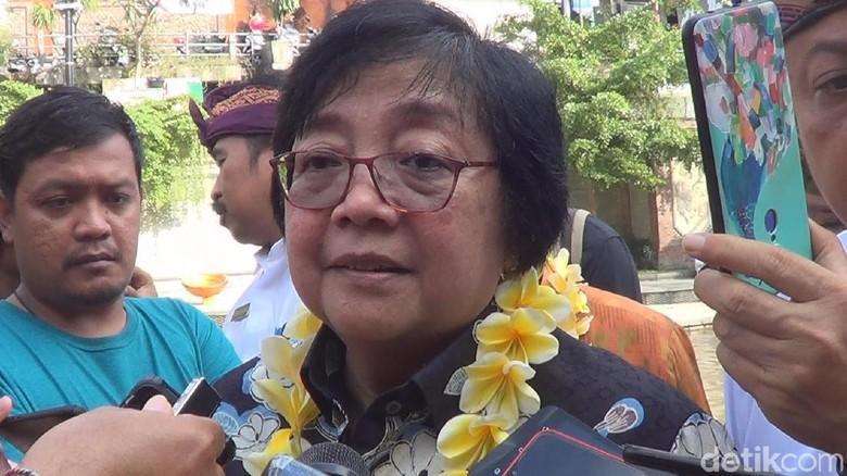 Menteri Siti Siap Adopsi Aplikasi Bank Sampah Sidarling Pemkot Denpasar