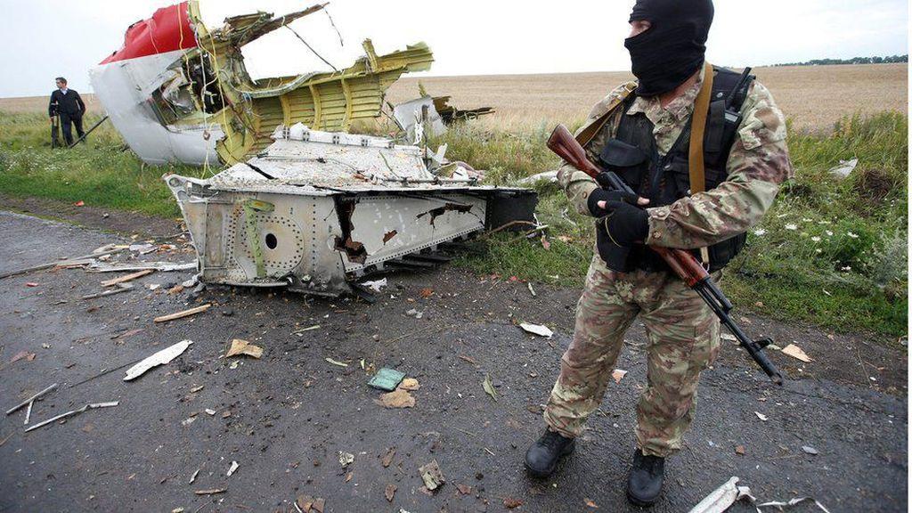 3 WN Rusia dan 1 WN Ukraina Jadi Tersangka Jatuhnya MH17, Siapa Mereka?