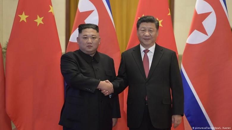 Pertama Kali, Presiden China Xi Jinping Kunjungi Korea Utara