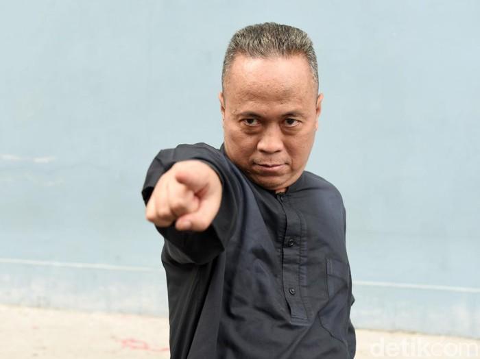 Ki Joko Bodo saat ditemui di studio Trans TV.