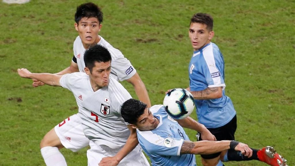 Video: Gol-gol Uruguay Vs Jepang di Copa America 2019