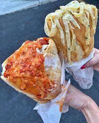 Sandwich Isi Daging Sudah Biasa, Kini Ada Sandwich Isi Aneka Pasta!