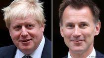 Boris Johnson dan Jeremy Hunt Bertarung Jadi Perdana Menteri Baru Inggris
