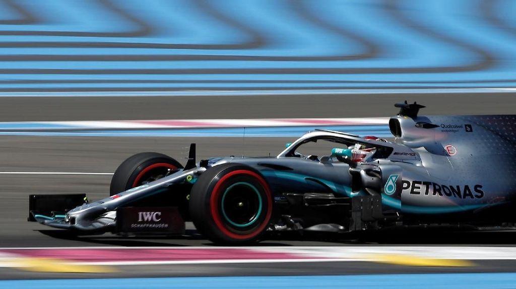 Hamilton Tercepat di Latihan Bebas I GP Prancis, Mercedes Dominan