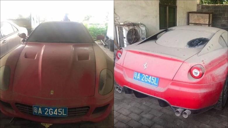 Ferrari Bekas dijual murah. Foto: Istimewa