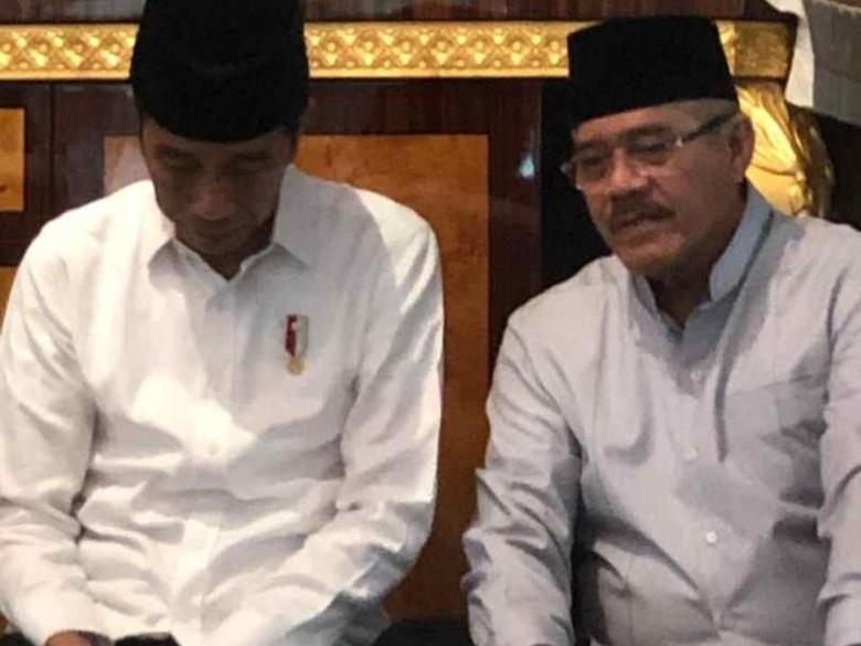 Jokowi Melayat ke Rumah Ketua MA Hatta Ali