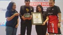 Punya Food Court Terbanyak, Go-Food Festival Catat Rekor MURI