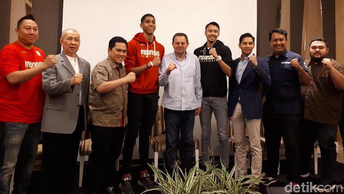 PP Perbasi mengajukan kandidat pelatih Timnas Indonesia kepada pemerintah menyambut Piala Dunia Basket 2023. (Mercy Raya/detikSport)