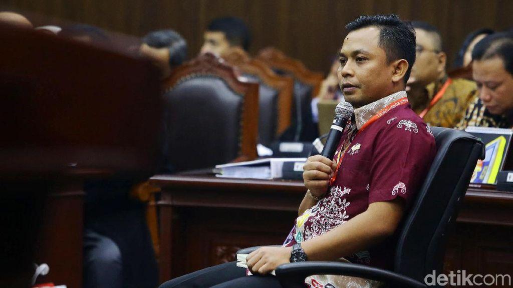 Saksi Jokowi Jelaskan Rekapitulasi Nasional di Sidang Sengketa Pilpres