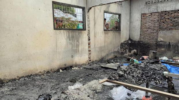 Kebakaran Pabrik Korek Api Diduga Akibat Ledakan Gas