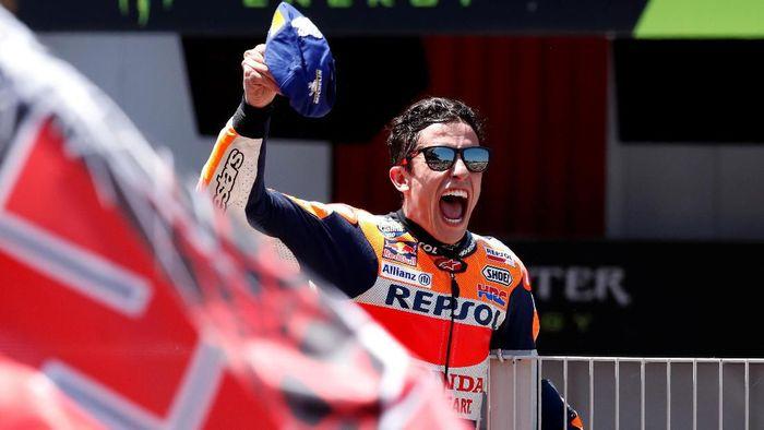 Marc Marquez mulai meninggalkan rival-rivalnya di klasemen kejuaraan dunia MotoGP. (Foto: Albert Gea / Reuters)