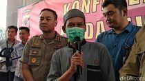 Pakai Masker, Rahmat Baequni Jadi Tersangka Penyebaran Hoax