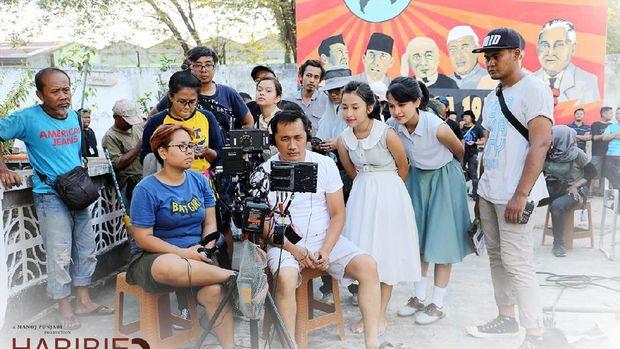 Eksklusif Behind The Scene Maudy Ayunda di 'Habibie & Ainun 3'