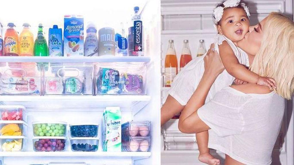 Super Lengkap! Khloe Kardashian Sewa Jasa Penata Pantry dan Kulkasnya