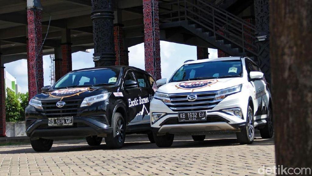 Uji Ketangguhan Daihatsu Terios di Perbatasan Kalimantan