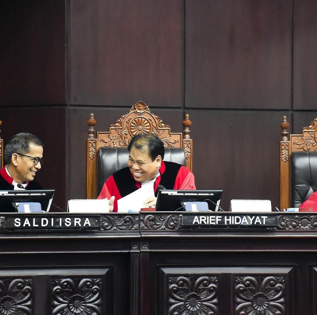 MK Tegaskan Bukti Tim 02 Soal Formulir C7 Hilang di Sidoarjo Tidak Jelas