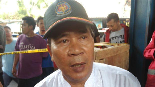 Kasudin Damkar Jakarta Barat Rompis Romlih.
