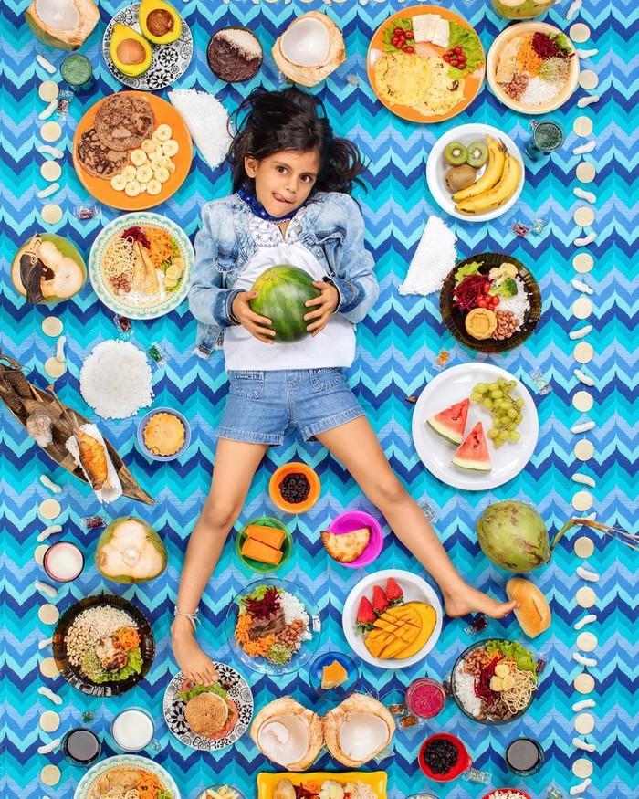 Ini dia makanan yang biasa dikonsumsi anak-anak di Brasil. Ada cauliflower souffle dengan cupuacu cream. Foto: Instagram greggsegel