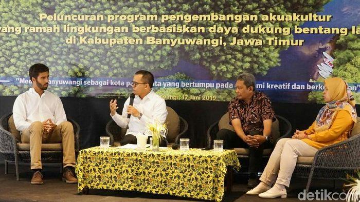 Foto: Diskusi Udang (Ardian Fanani)