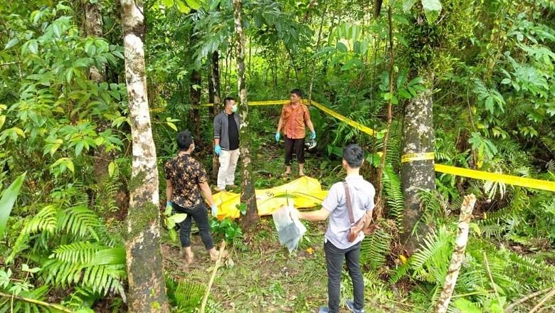 Mayat Laki-laki Ditemukan di Perkebunan Karet di Gunungsitoli