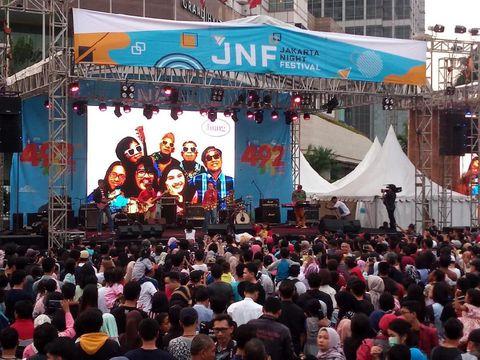Live Report: Kemeriahan HUT Kota Jakarta ke-492
