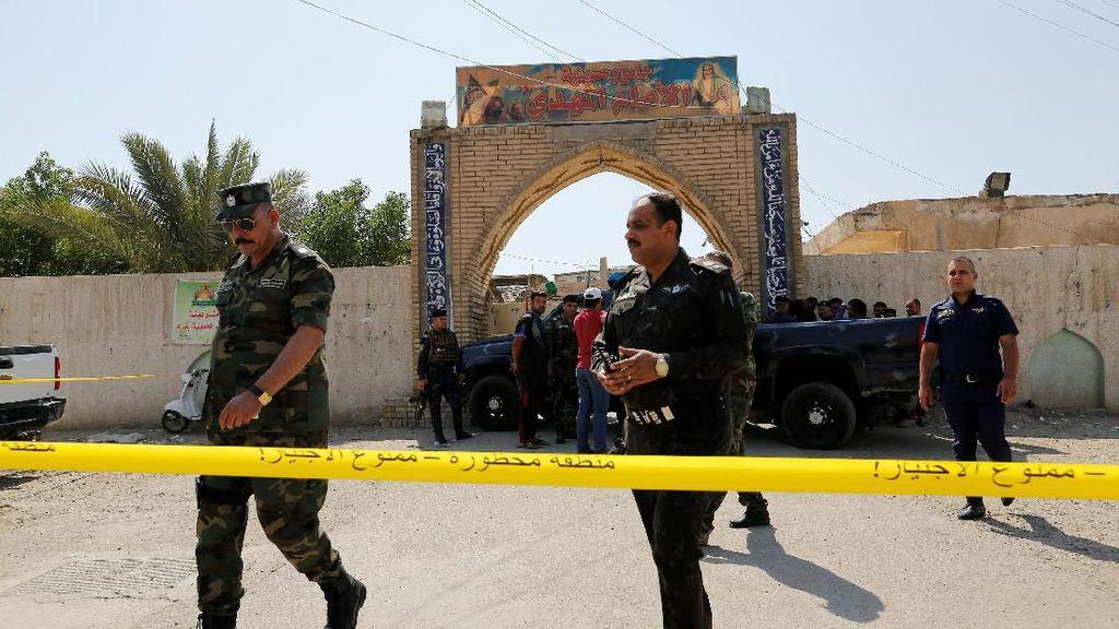Bom Bunuh Diri di Masjid Syiah Baghdad, 7 Orang Tewas